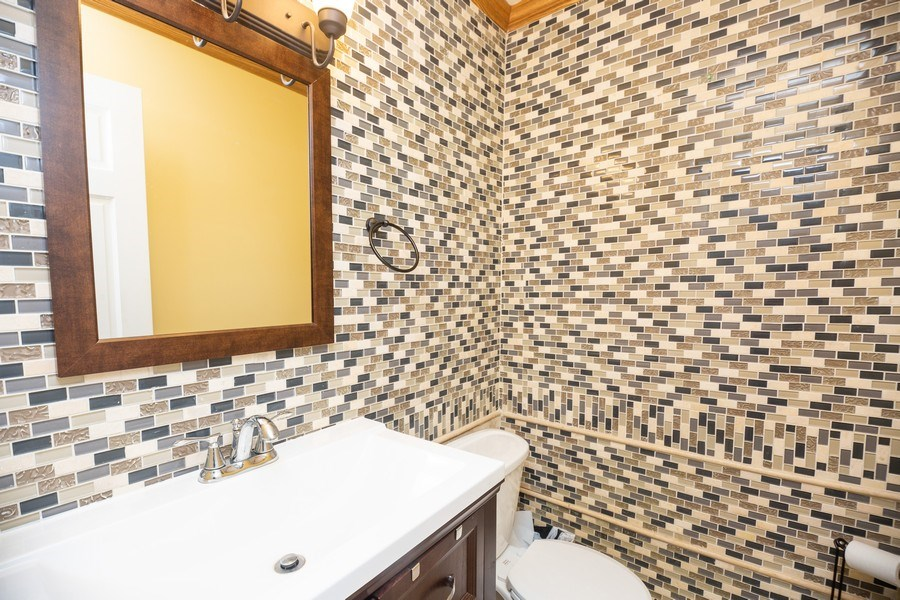 Real Estate Photography - 622 W. Central Road, Arlington Heights, IL, 60005 - Half Bath