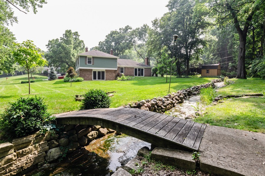 Real Estate Photography - 36W272 HICKORY HOLLOW Drive, Dundee, IL, 60118 - Rear View