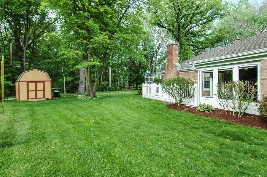 Real Estate Photography - 36W272 HICKORY HOLLOW Drive, Dundee, IL, 60118 - Side Yard & Shed