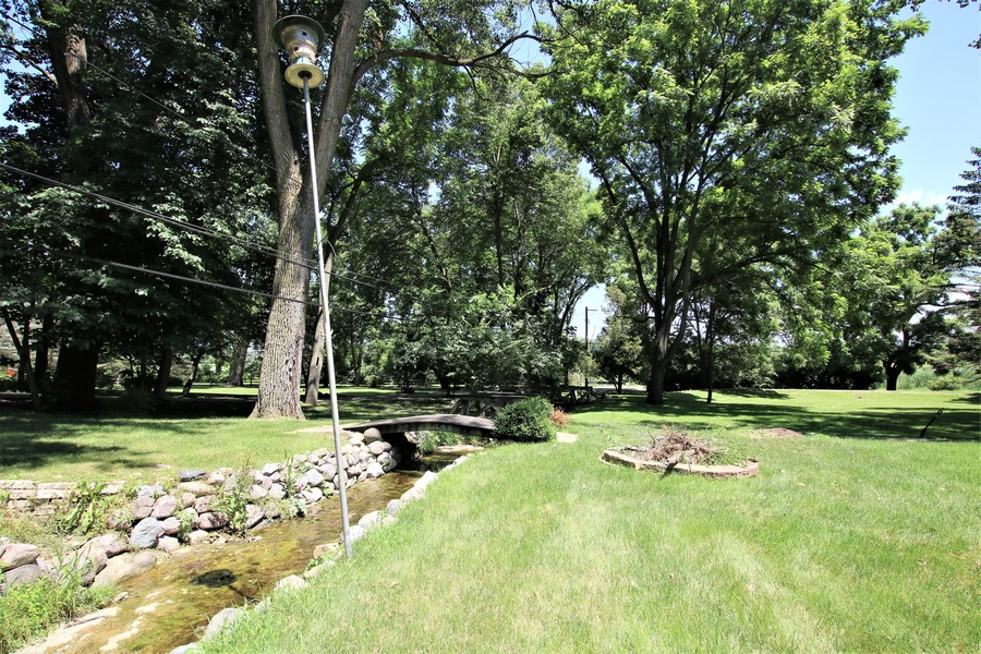 Real Estate Photography - 36W272 HICKORY HOLLOW Drive, Dundee, IL, 60118 - Firepit Area