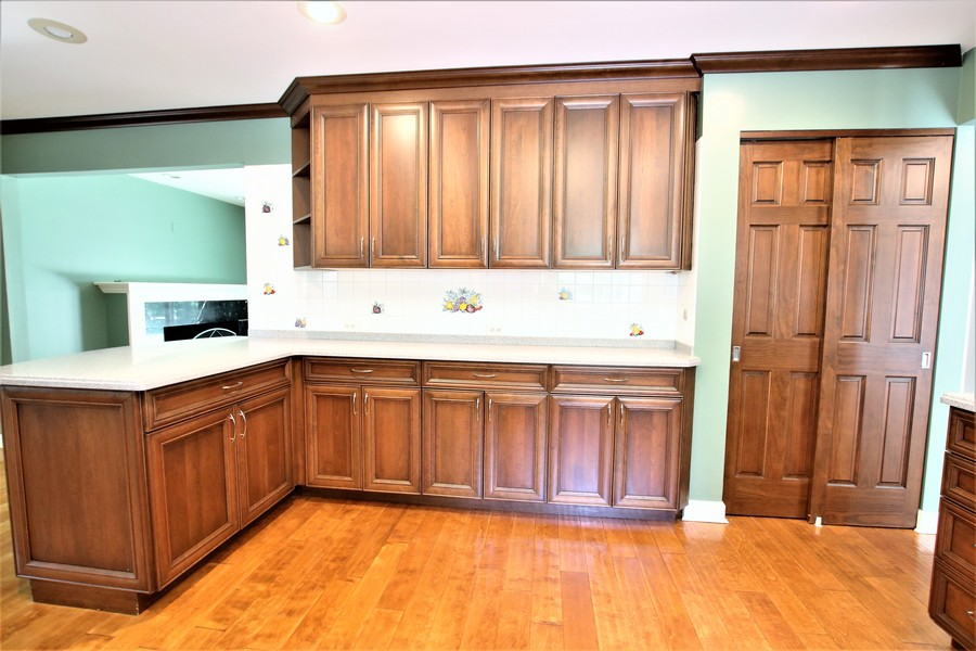 Real Estate Photography - 36W272 HICKORY HOLLOW Drive, Dundee, IL, 60118 - Plenty of Cabinet Space + Pantry Closet!