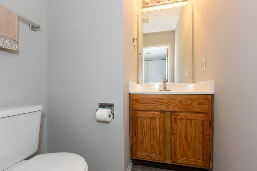 Real Estate Photography - 21151 West Covington Dr, Plainfield, IL, 60544 - 2nd Bathroom