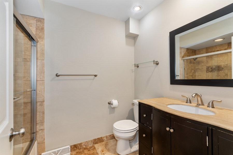 Real Estate Photography - 508 E. 12th Avenue, Naperville, IL, 60563 - 2nd Bathroom