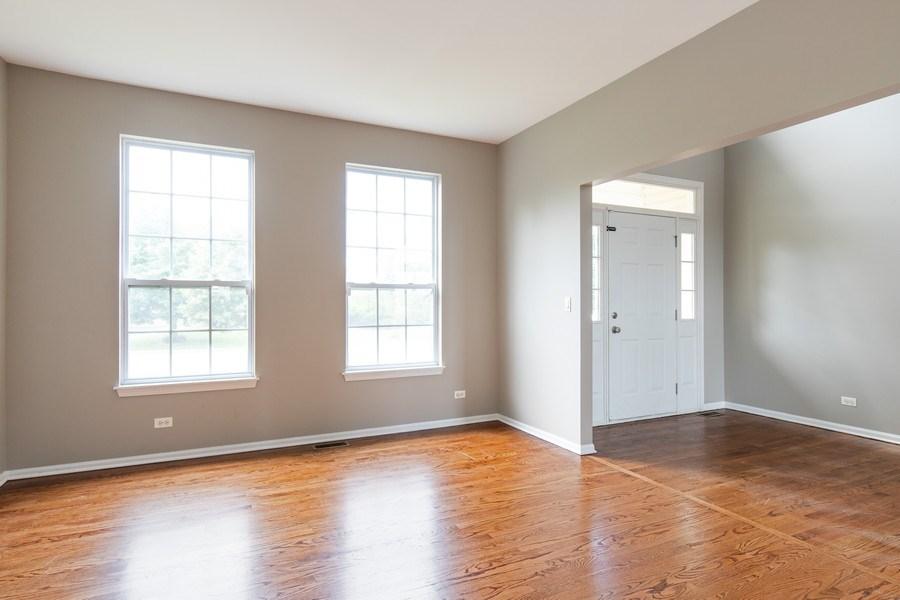 Real Estate Photography - 33 Bridlepath Drive, Lindenhurst, IL, 60046 - Living Room & Foyer
