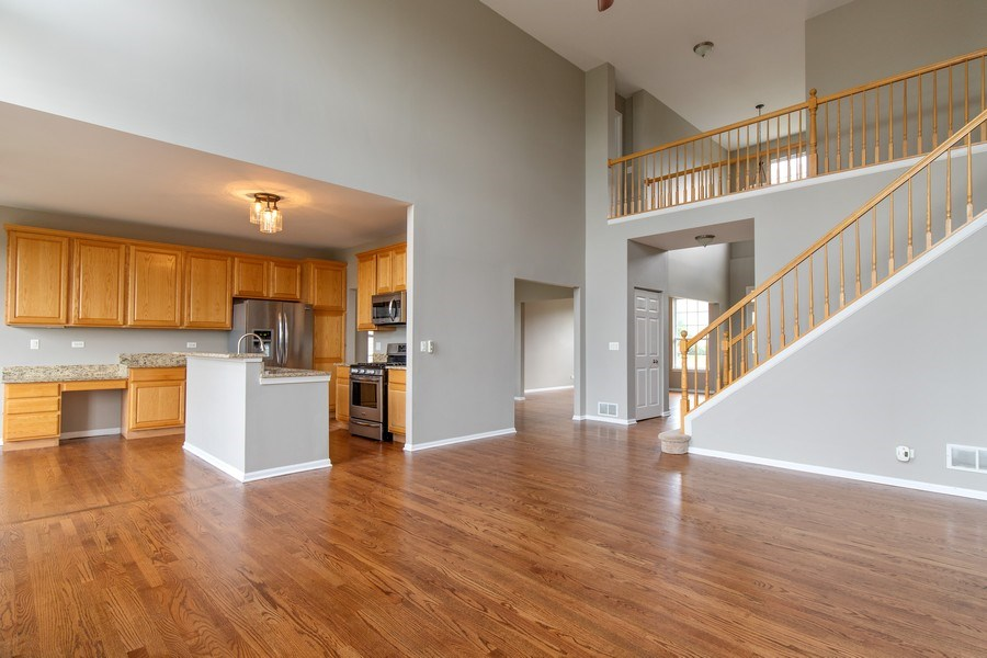 Real Estate Photography - 33 Bridlepath Drive, Lindenhurst, IL, 60046 - Open Floor plan
