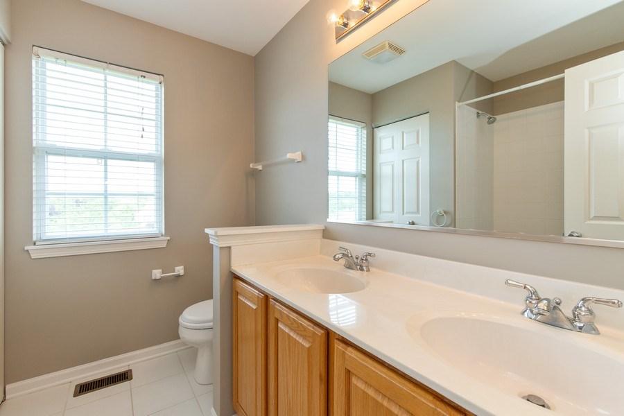 Real Estate Photography - 33 Bridlepath Drive, Lindenhurst, IL, 60046 - Bathroom