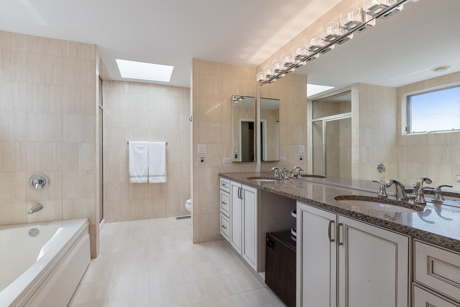 Real Estate Photography - 1938 North Maud Ave, Chicago, IL, 60614 - Master Bathroom