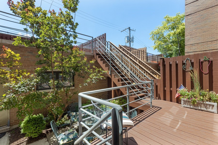 Real Estate Photography - 1938 North Maud Ave, Chicago, IL, 60614 - Deck