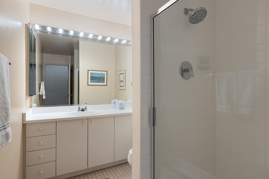 Real Estate Photography - 1938 North Maud Ave, Chicago, IL, 60614 - Lower Level Full Bathroom