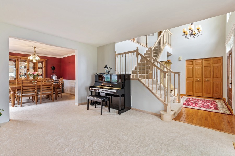 Real Estate Photography - 220 Prairie View Ave, Grayslake, IL, 60030 - Living Room