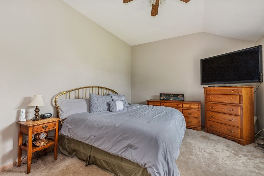 Real Estate Photography - 220 Prairie View Ave, Grayslake, IL, 60030 - Master Bedroom