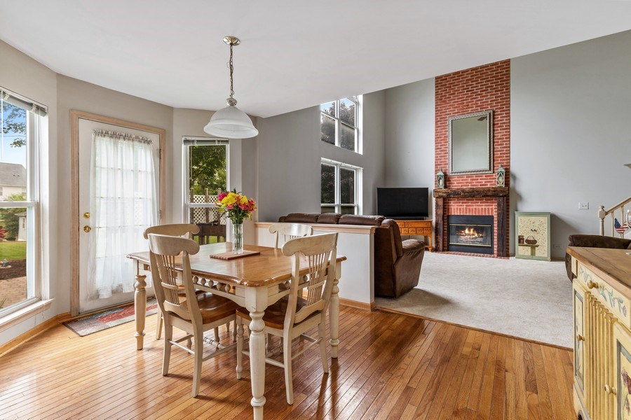 Real Estate Photography - 220 Prairie View Ave, Grayslake, IL, 60030 - Breakfast Area