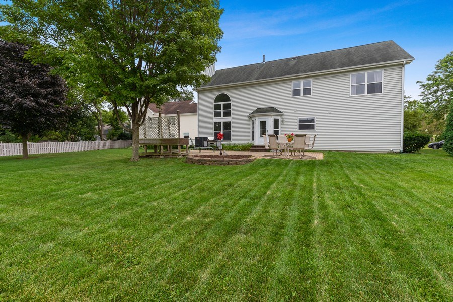 Real Estate Photography - 220 Prairie View Ave, Grayslake, IL, 60030 - Rear View