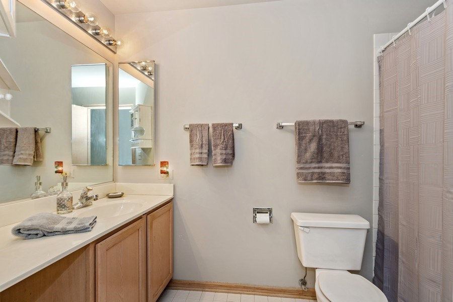 Real Estate Photography - 220 Prairie View Ave, Grayslake, IL, 60030 - Bathroom