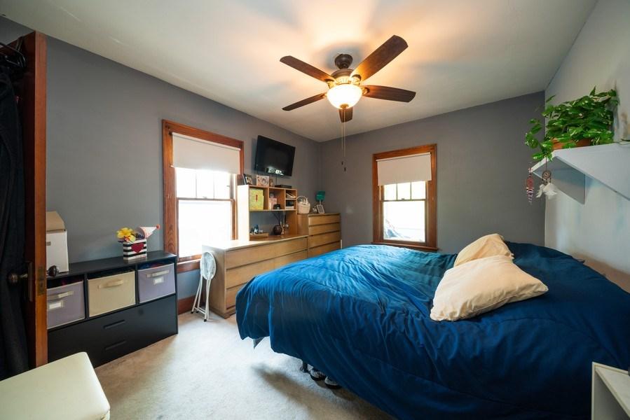 Real Estate Photography - 602 Wilder Street, Aurora, IL, 60506 - Master Bedroom