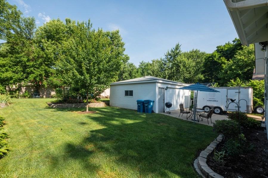 Real Estate Photography - 602 Wilder Street, Aurora, IL, 60506 - Back Yard