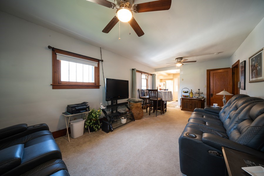 Real Estate Photography - 602 Wilder Street, Aurora, IL, 60506 - Living Room / Dining Room