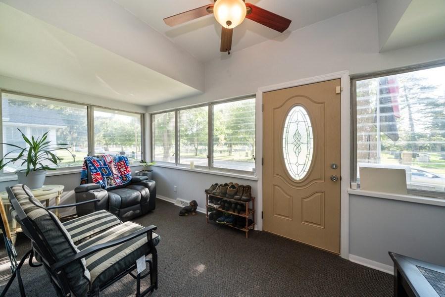 Real Estate Photography - 602 Wilder Street, Aurora, IL, 60506 - Sun Room