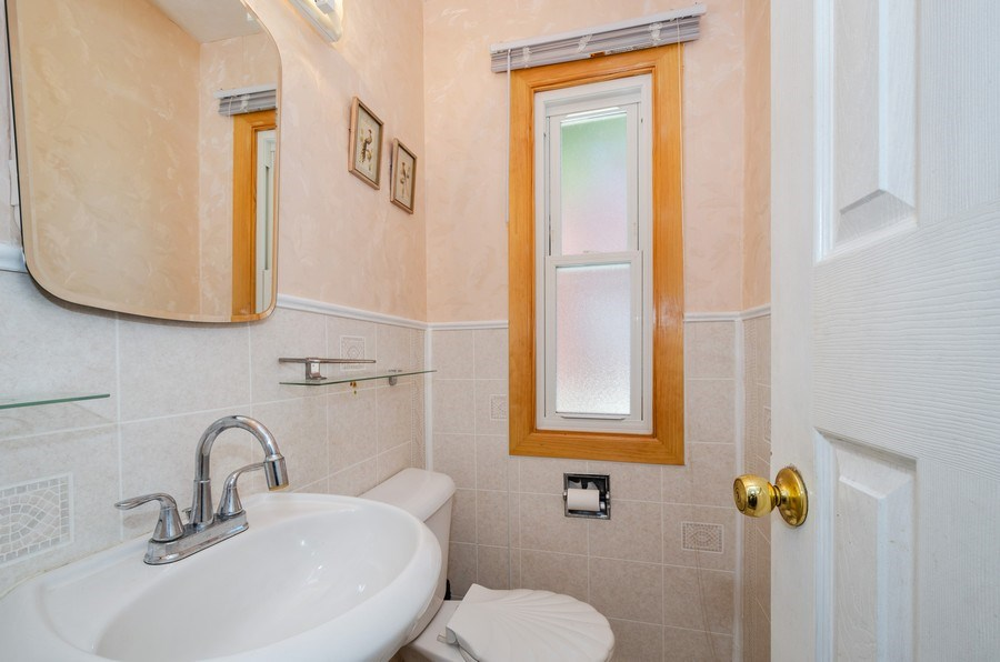 Real Estate Photography - 9126A Niles Center Road, Skokie, IL, 60076 - Powder Room