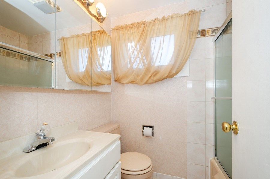 Real Estate Photography - 9126A Niles Center Road, Skokie, IL, 60076 - Bathroom