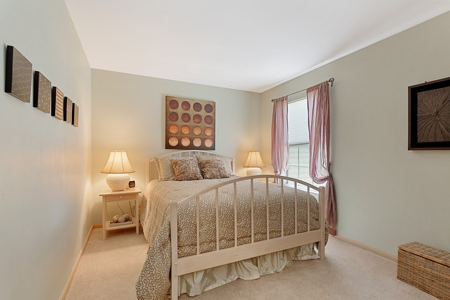 Real Estate Photography - 2264 Seaver Lane, Hoffman Estates, IL, 60169 - 2nd Bedroom