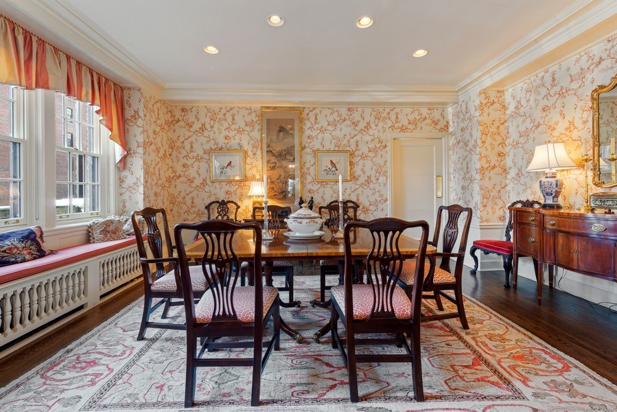 Real Estate Photography - 70 East Cedar St, 6W, Chicago, IL, 60611 - Dining Room