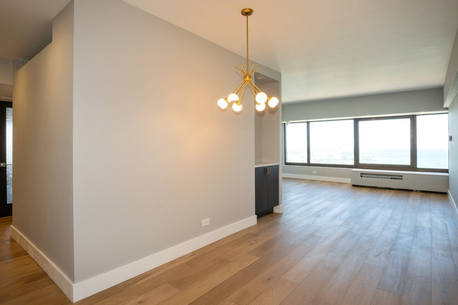 Real Estate Photography - 175 E. DELAWARE Place, Unit 5702, Chicago, IL, 60611 - Living Room