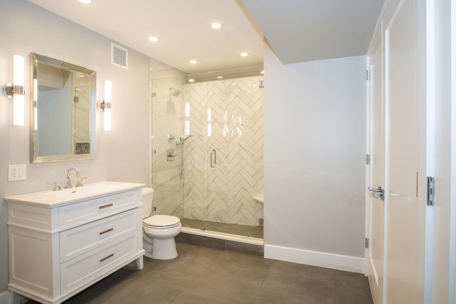 Real Estate Photography - 175 E. DELAWARE Place, Unit 5702, Chicago, IL, 60611 - Master Bathroom