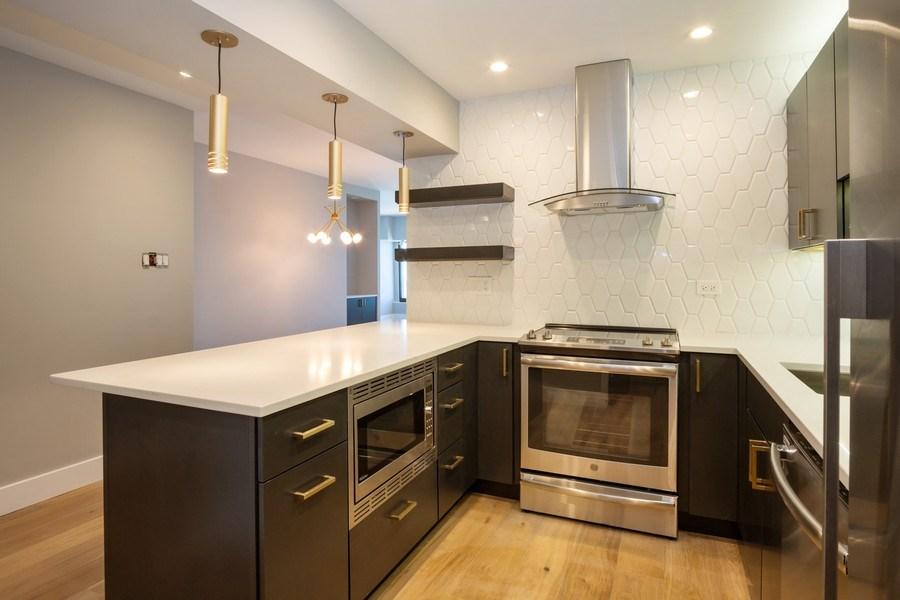 Real Estate Photography - 175 E. DELAWARE Place, Unit 5702, Chicago, IL, 60611 - Kitchen