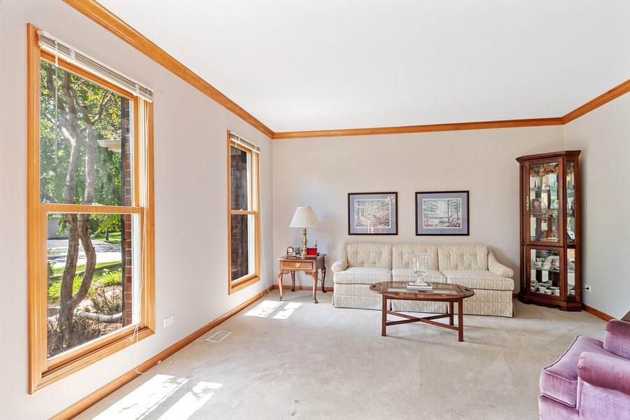 Real Estate Photography - 2350 Waterbury Circle, Aurora, IL, 60504 - Living Room