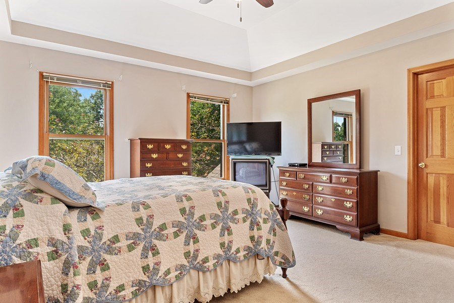 Real Estate Photography - 2350 Waterbury Circle, Aurora, IL, 60504 - Master Bedroom