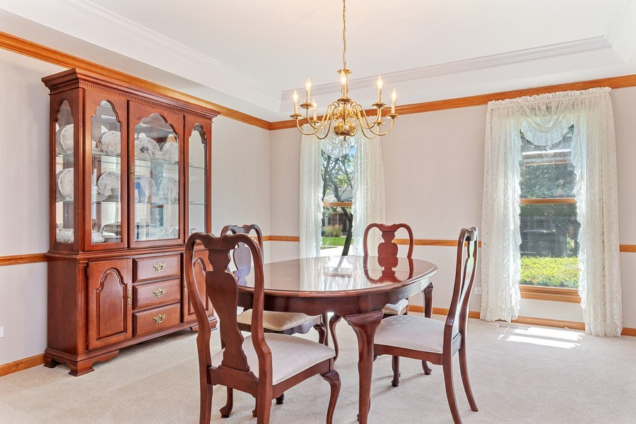 Real Estate Photography - 2350 Waterbury Circle, Aurora, IL, 60504 - Dining Area