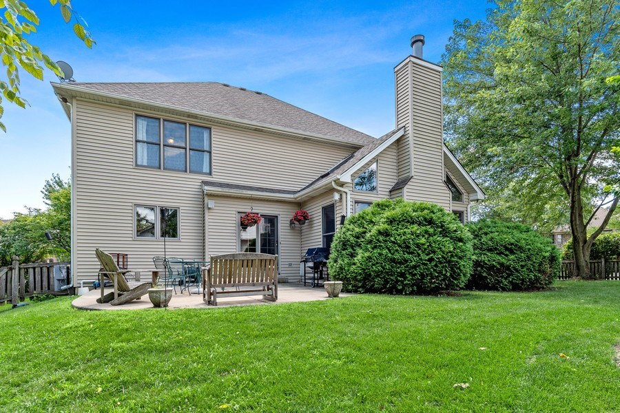 Real Estate Photography - 2350 Waterbury Circle, Aurora, IL, 60504 - Rear View