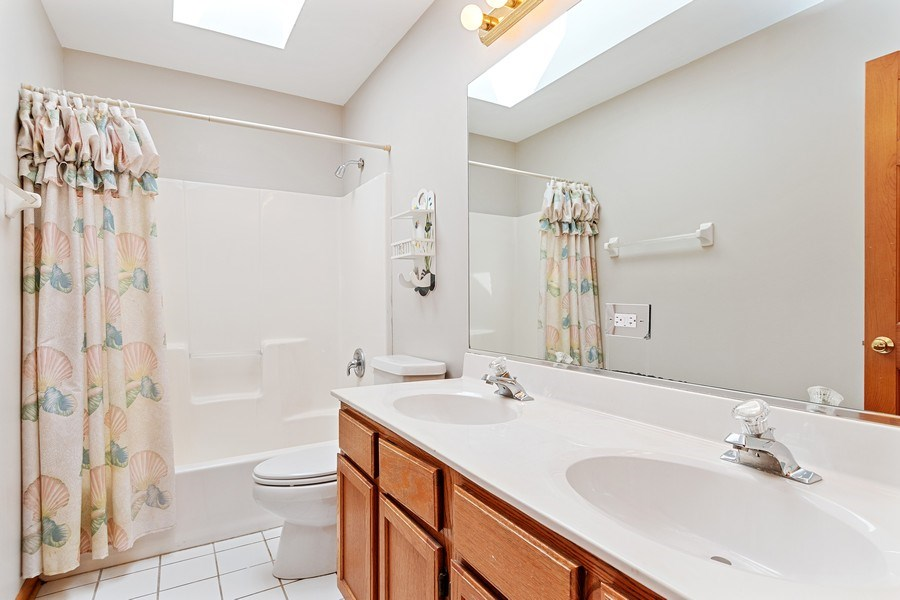 Real Estate Photography - 2350 Waterbury Circle, Aurora, IL, 60504 - 2nd Bathroom