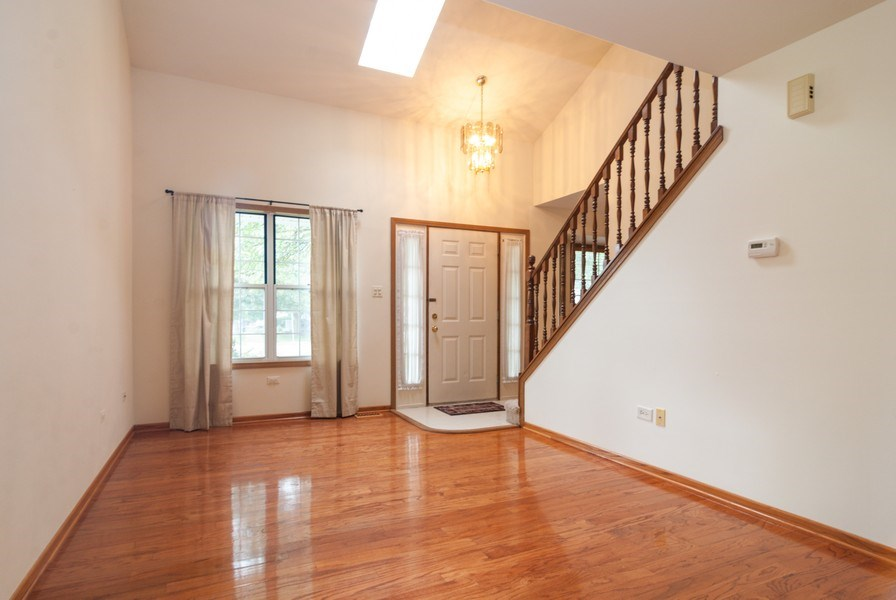 Real Estate Photography - 3531 Princeton Avenue, Aurora, IL, 60504 - Living Room