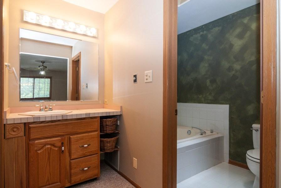 Real Estate Photography - 3531 Princeton Avenue, Aurora, IL, 60504 - Master Bathroom