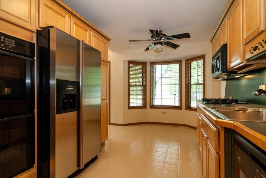Real Estate Photography - 3531 Princeton Avenue, Aurora, IL, 60504 - Kitchen / Breakfast Room