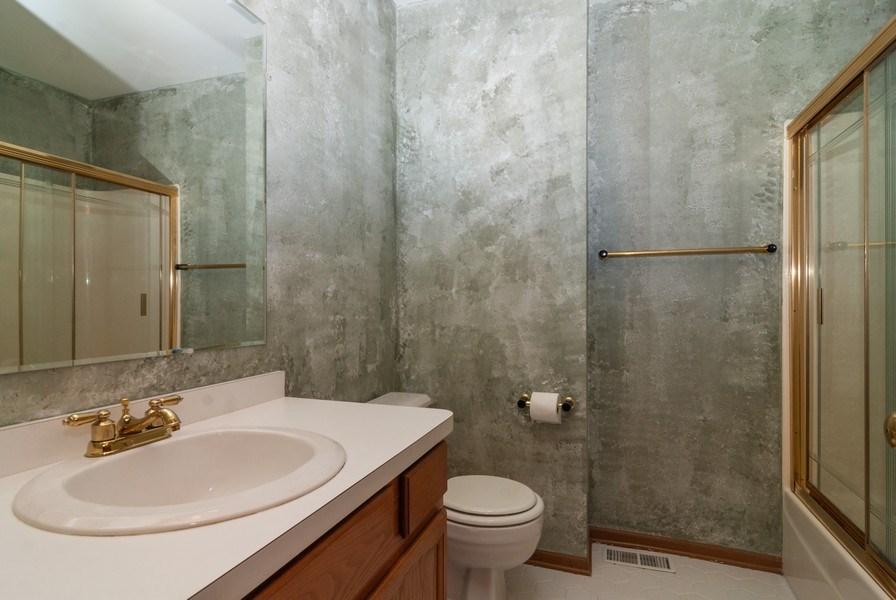 Real Estate Photography - 3531 Princeton Avenue, Aurora, IL, 60504 - 2nd Bathroom
