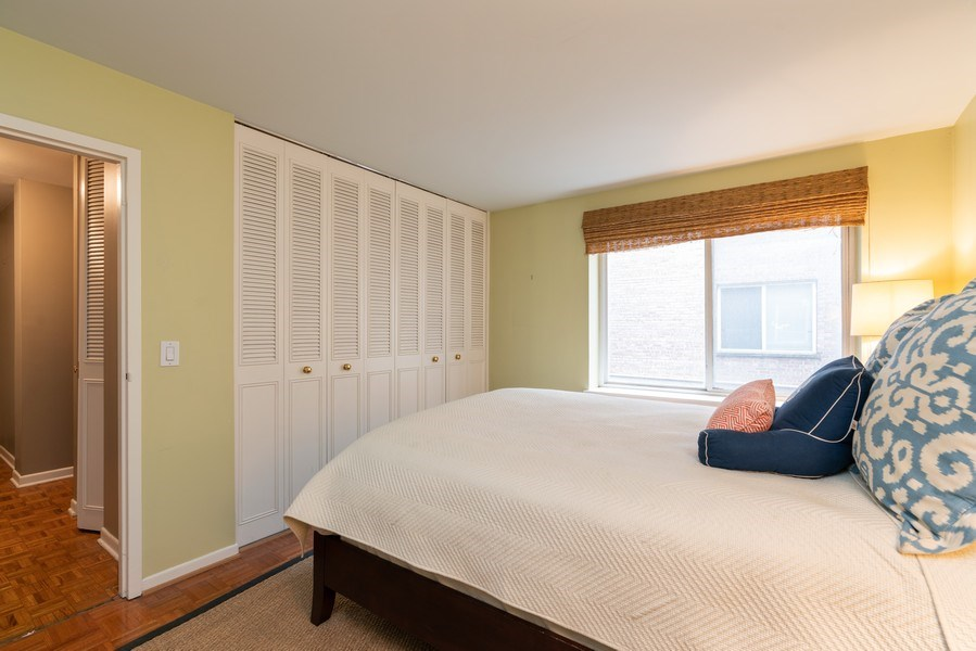 Real Estate Photography - 539 W. STRATFORD Place, Unit 204, Chicago, IL, 60657 - Bedroom