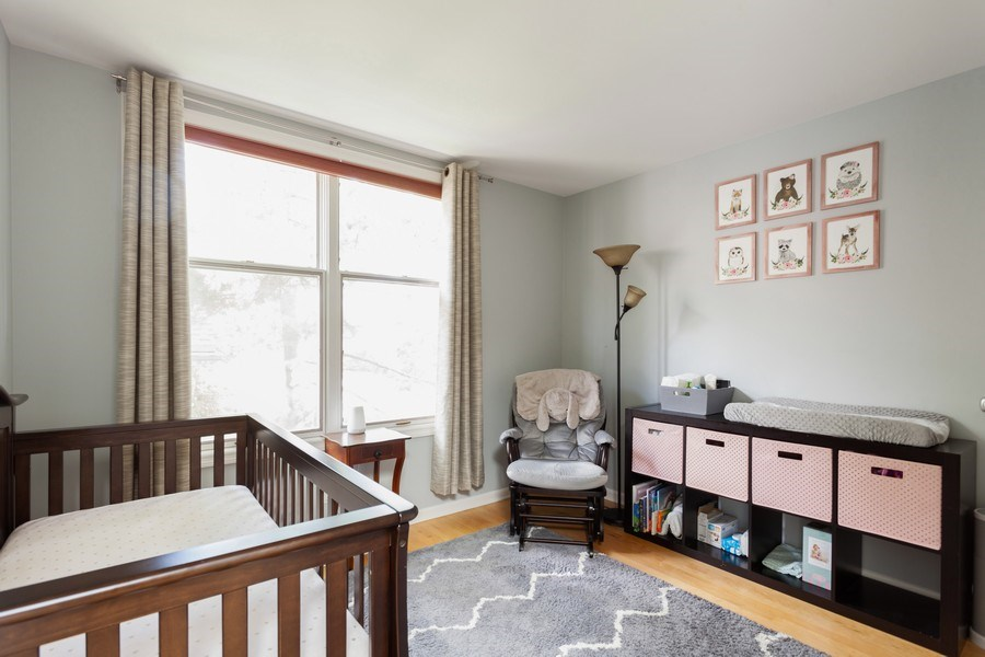 Real Estate Photography - 235 S. Marion Street, Unit K, Oak Park, IL, 60302 - 3rd Bedroom