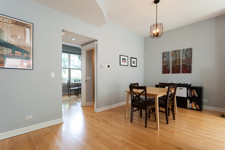 Real Estate Photography - 235 S. Marion Street, Unit K, Oak Park, IL, 60302 - Dining Room