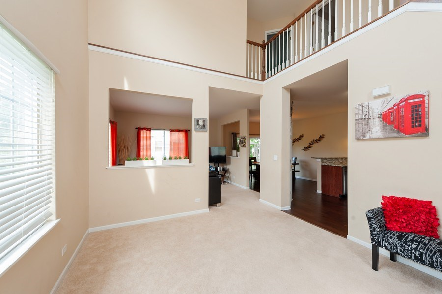 Real Estate Photography - 321 North Patriot Dr, Hainesville, IL, 60030 - Living Room