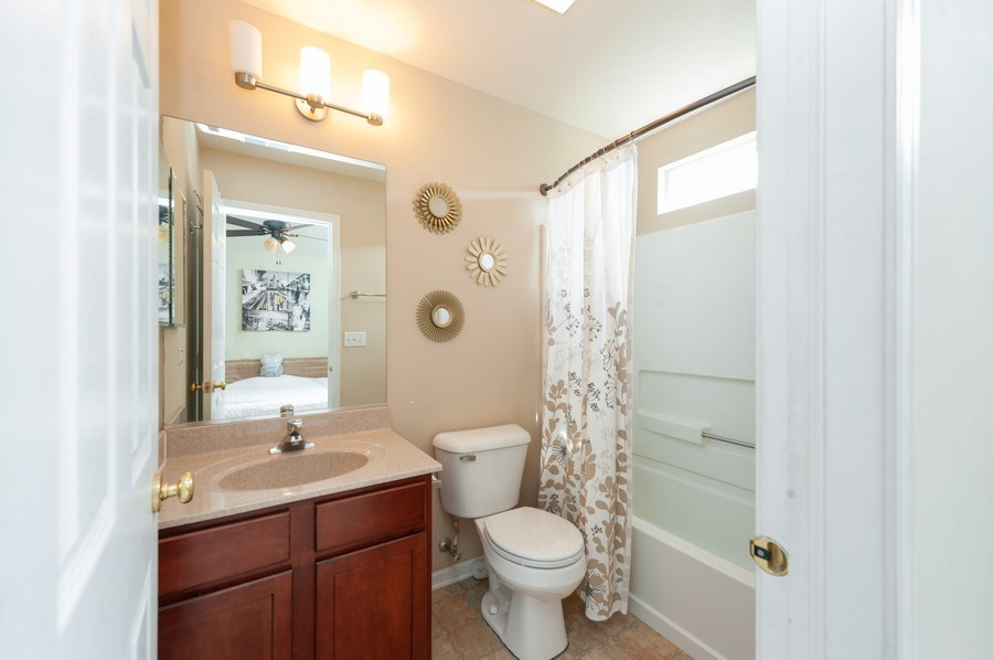 Real Estate Photography - 321 North Patriot Dr, Hainesville, IL, 60030 - Master Bathroom