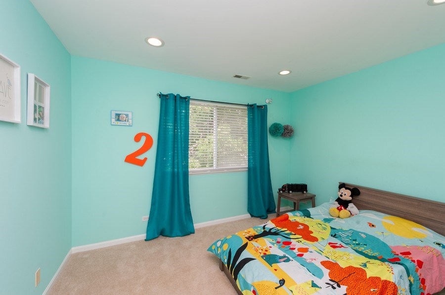 Real Estate Photography - 321 North Patriot Dr, Hainesville, IL, 60030 - 2nd Bedroom