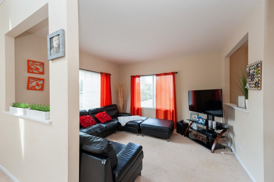 Real Estate Photography - 321 North Patriot Dr, Hainesville, IL, 60030 - Family Room