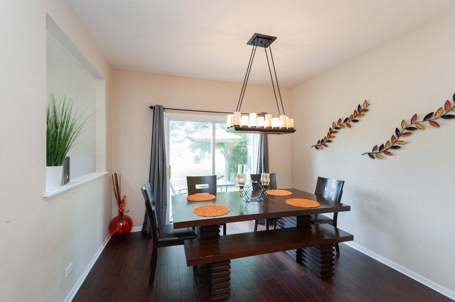 Real Estate Photography - 321 North Patriot Dr, Hainesville, IL, 60030 - Dining Area