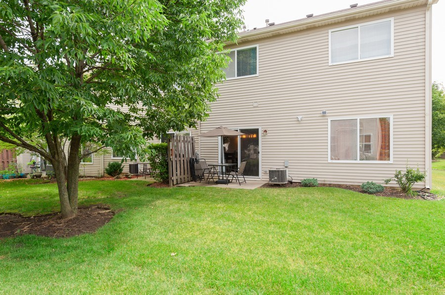 Real Estate Photography - 321 North Patriot Dr, Hainesville, IL, 60030 - Rear View