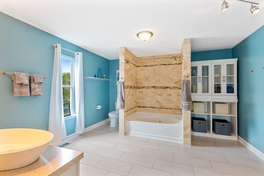 Real Estate Photography - 310 Kennedy Drive, Antioch, IL, 60002 - Master Bathroom