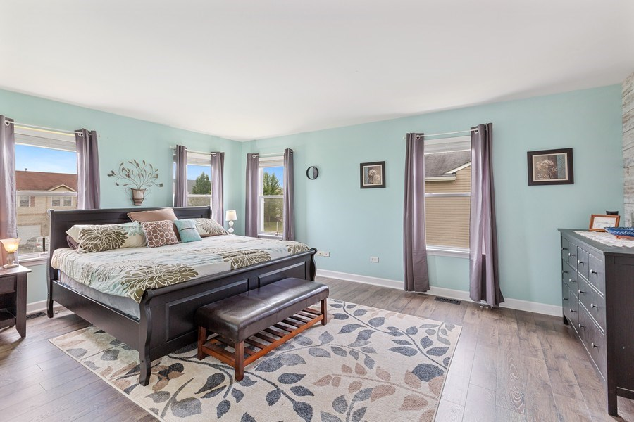 Real Estate Photography - 310 Kennedy Drive, Antioch, IL, 60002 - Master Bedroom