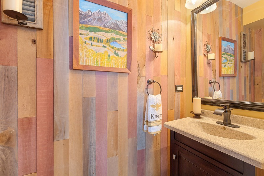 Real Estate Photography - 310 Kennedy Drive, Antioch, IL, 60002 - Powder Room